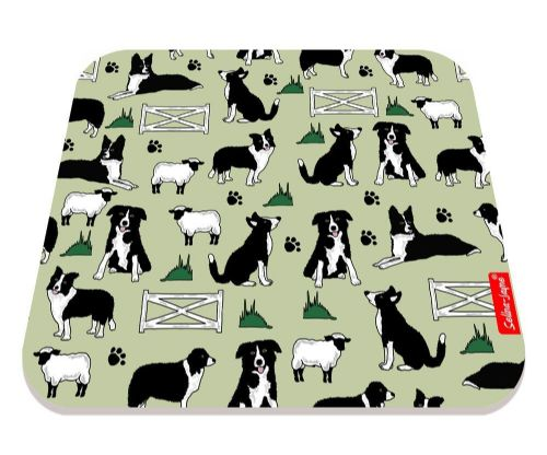 Selina-Jayne Border Collies Limited Edition Designer Mouse Mat